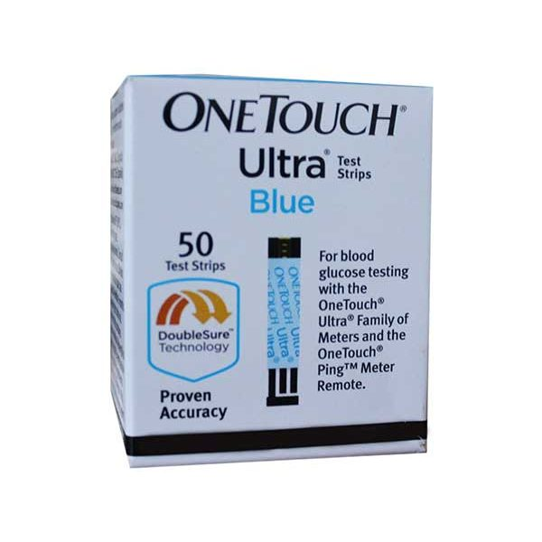 OneTouch Ultra Blue Diabetic Test Strip by Lifescan Automatic blood draw makes it easy to see when there's enough blood for an accurate reading One Touch Ultra Meter gives results in just 5 seconds and requires just a speck of blood.