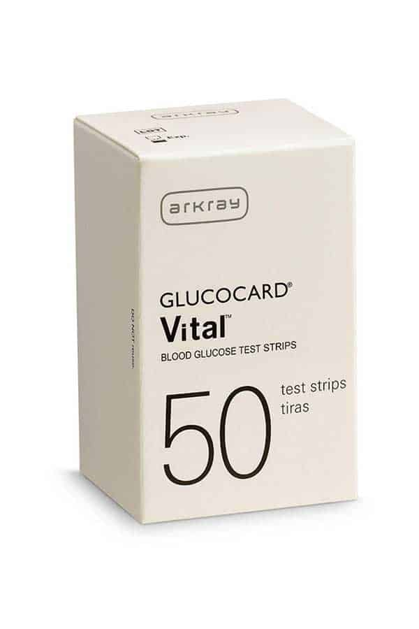 ARKRAY GLUCOCARD VITAL TEST STRIPS 50ct. - Diabetic Outlet