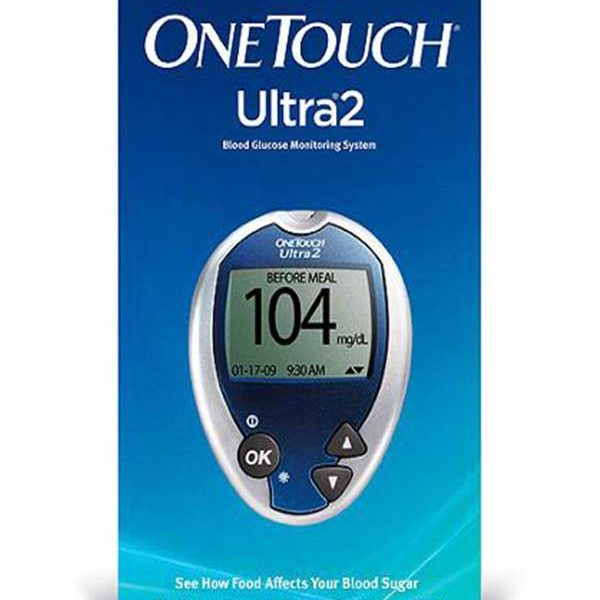Onetouch Ultra 2 Glucose Monitoring System Diabetic Outlet