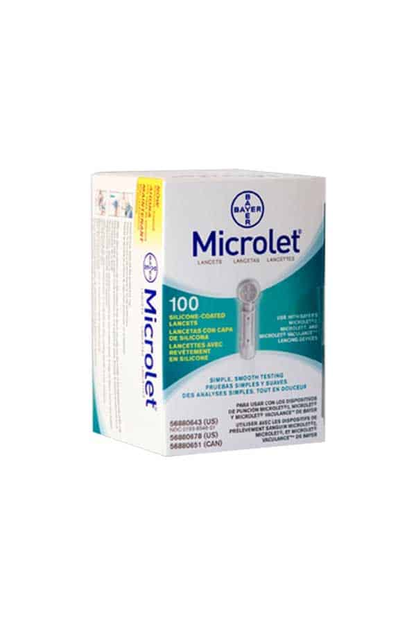 BAYER MICORLET LANCETS 100ct. - Diabetic Outlet