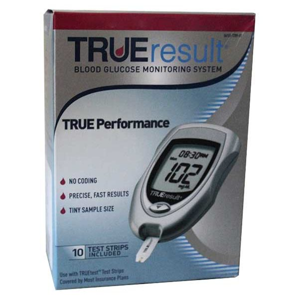Nipro Trueresult Glucose Monitoring System Diabetic Outlet