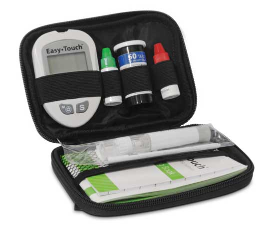 Easytouch Glucose Meter Kit Diabetic Outlet