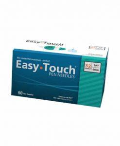 EasyTouch Pen Needle 50 count 32gauge 1.4in