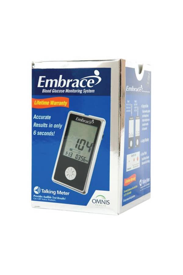Omnis Embrace Glucose Meter Kit Diabetic Outlet