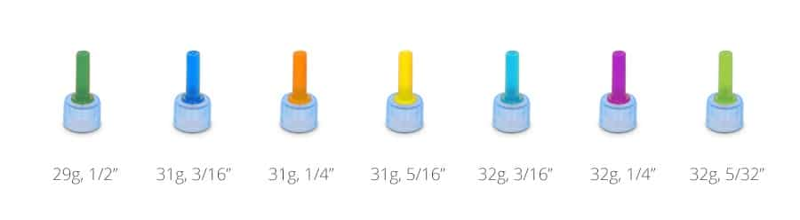 easytouch pen-needle-cap-colors