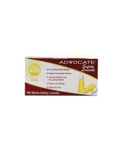 advocate-safety-lancets-26g 110count box
