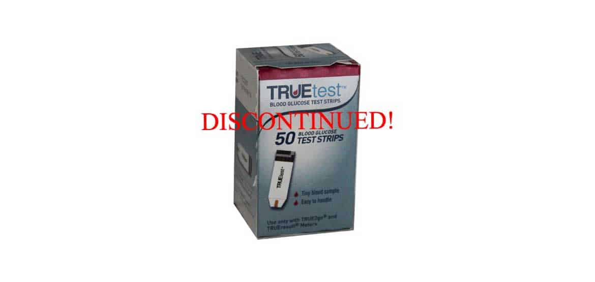 TRUETEST TEST STRIPS DISCONTINUED! - Diabetic Outlet